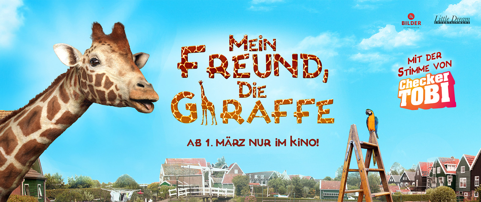 Giraffe Banner Website